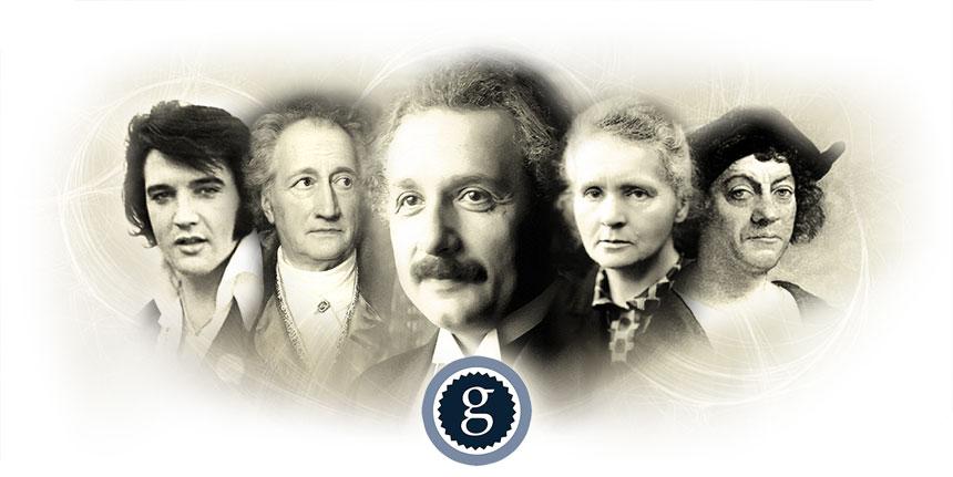 Top 100 Berühmte Personen Der Geschichte Geboren Am