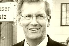57-Jähriger Christian Wulff