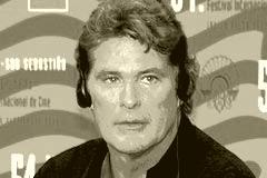 66-Jähriger David Hasselhoff