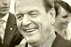 73-Jähriger Gerhard Schröder