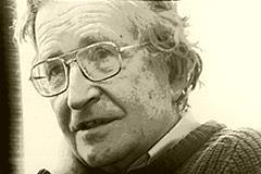92-Jähriger Noam Chomsky