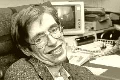 75-Jähriger Stephen Hawking