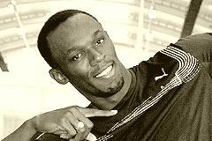 30-Jähriger Usain Bolt
