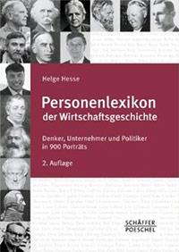 Buch »Personenlexikon der Wirtschaftsgeschichte«