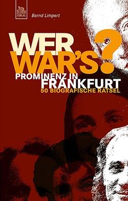 Buch »Wer war's? Prominenz in Frankfurt«