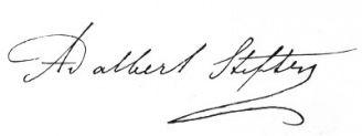 Unterschrift Adalbert Stifter