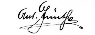 Unterschrift Anton Günther