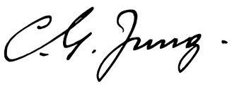 Unterschrift Carl Gustav Jung
