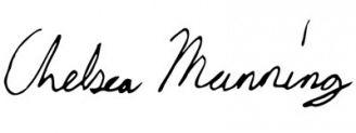 Unterschrift Chelsea Manning