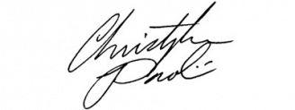 Unterschrift Christopher Paolini