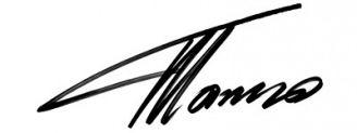 Unterschrift Fernando Alonso