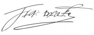 Unterschrift Francis Drake