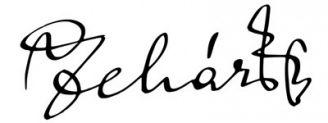 Unterschrift Franz Lehár