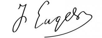 Unterschrift Friedrich Engels