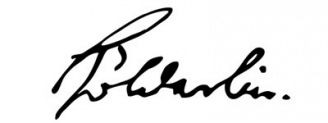 Unterschrift Friedrich Hölderlin