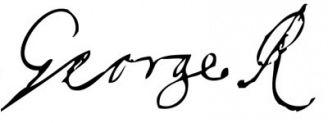 Unterschrift Georg I.