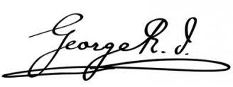 Unterschrift Georg V.