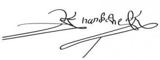 Unterschrift Hernán Cortés