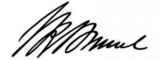 Unterschrift Isambard Kingdom Brunel