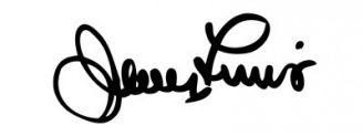 Unterschrift Jerry Lewis