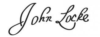 Unterschrift John Locke