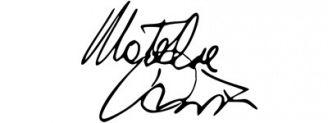 Unterschrift Natalie Portman