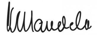 Unterschrift Nelson Mandela