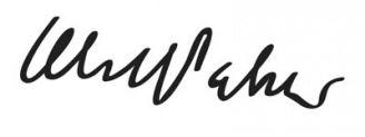 Unterschrift Olof Palme