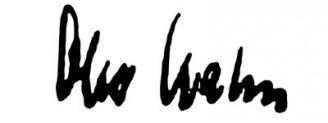 Unterschrift Otto Hahn