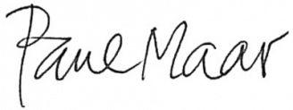 Unterschrift Paul Maar