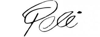 Unterschrift Pelé