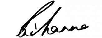 Unterschrift Rihanna