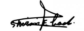Unterschrift Shirin Ebadi