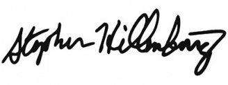Unterschrift Stephen Hillenburg