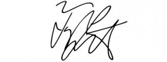 Unterschrift Taylor Lautner