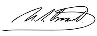 Unterschrift Ulysses S. Grant