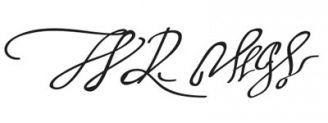 Unterschrift Walter Raleigh