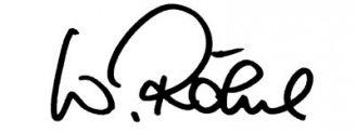 Unterschrift Walter Röhrl