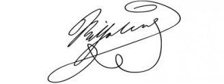 Unterschrift Wilhelm I.
