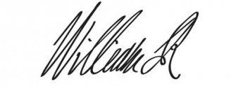 Unterschrift Wilhelm von Oranien