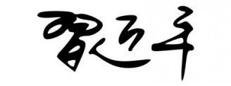 Unterschrift Xi Jinping